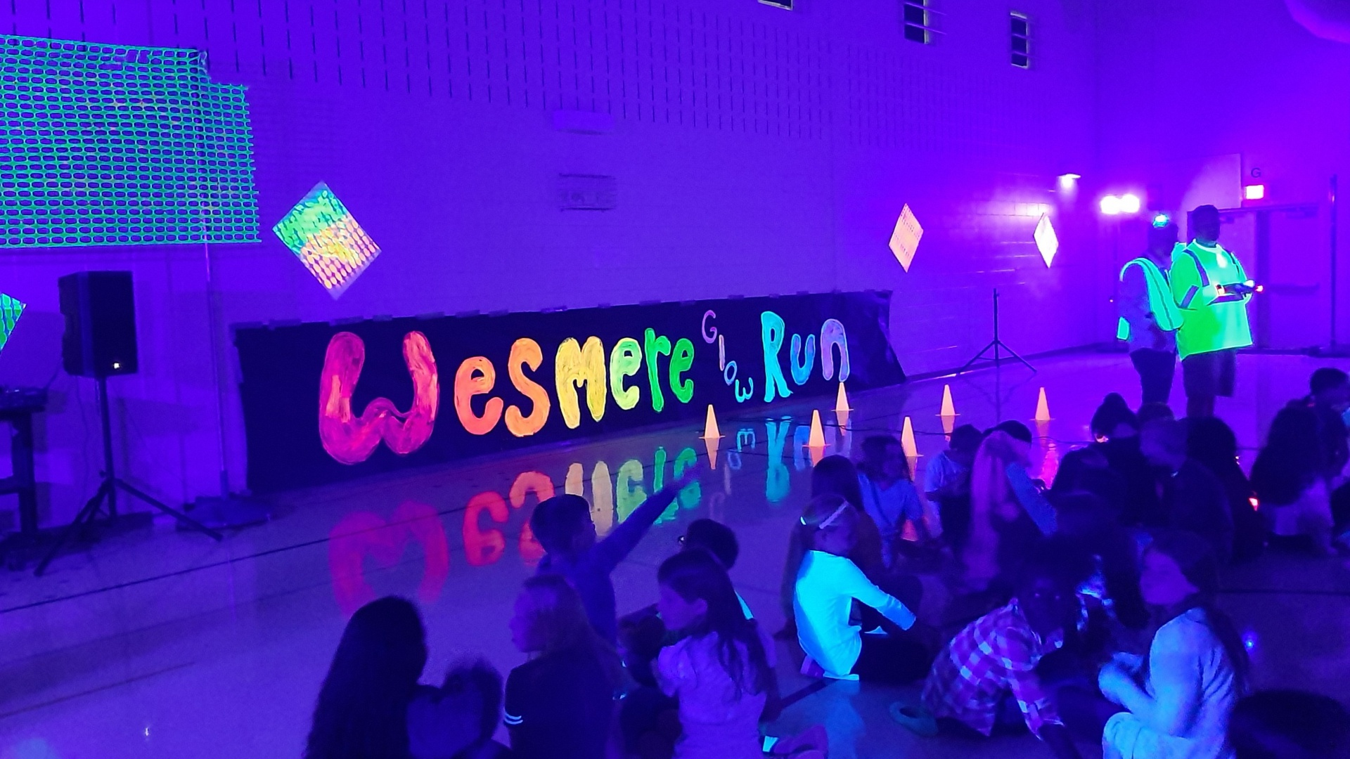 Glow Run Kick Off Assembly