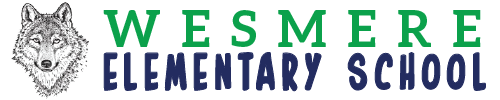 Wesmere Elementary School logo centered